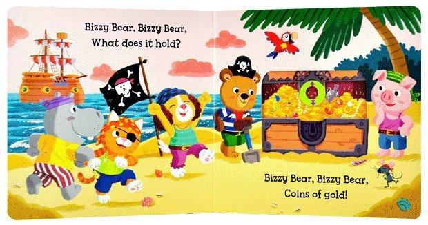 快来认识一下这只可爱的小熊bizzy bear!